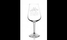 Glas mit Wunschgravur für Weine 0,32L 026650