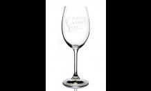 Glas mit Wunschgravur für Weine 0,35L 026575