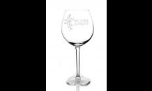 Glas mit Wunschgravur für Weine 0,59L 026649
