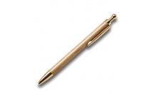 Kugelschreiber aus Holz (Ahorn) mit Goldmechanik 026516